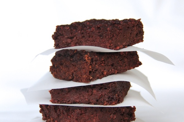 Gluten-free beetroot & chocolate brownies